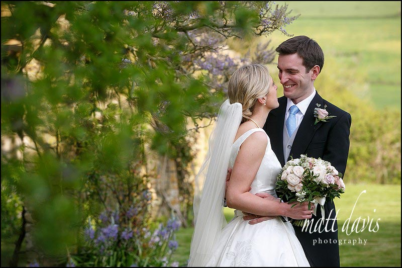 Natural wedding couple portraits taken at Hamswell House by Matt Davis Photography