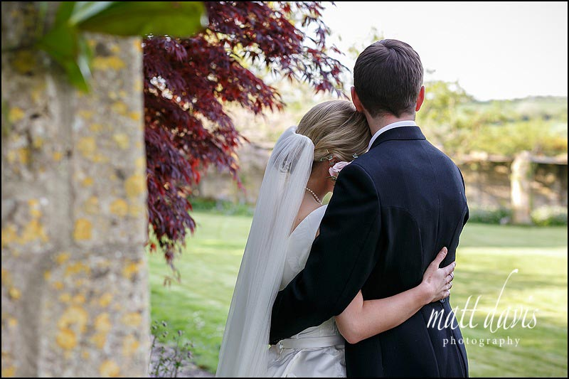 Informal wedding couple portraits taken at Hamswell House by Matt Davis Photography