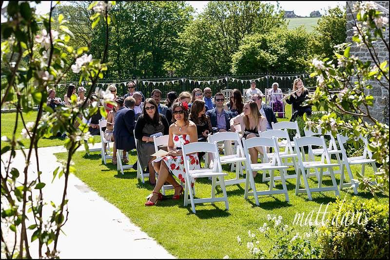 Outdoor Wedding At Kingscote Barn, Gloucestershire