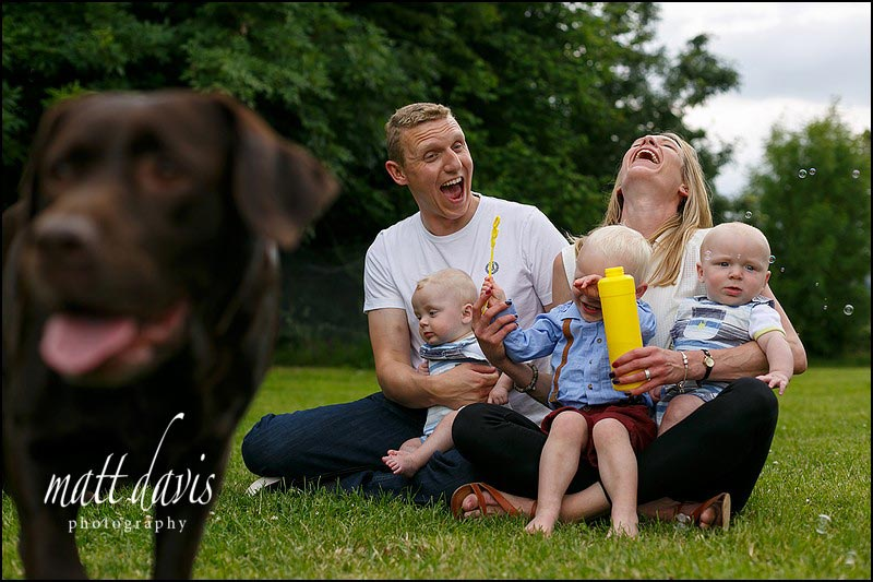 Fun Family portrait photography Gloucestershire