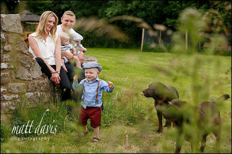 Natural Family portrait photography Gloucestershire