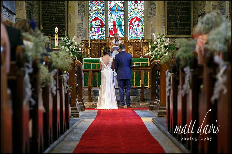St Leonard's Church wedding in Bretforton close to Chipping Campden