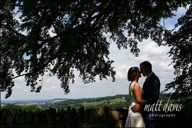 Stunning wedding photos taken en route to Mickelton Hills Farm