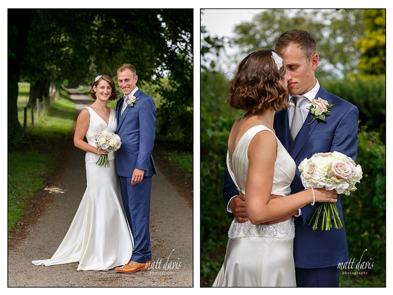 Stunning wedding photos at Mickelton Hills Farm