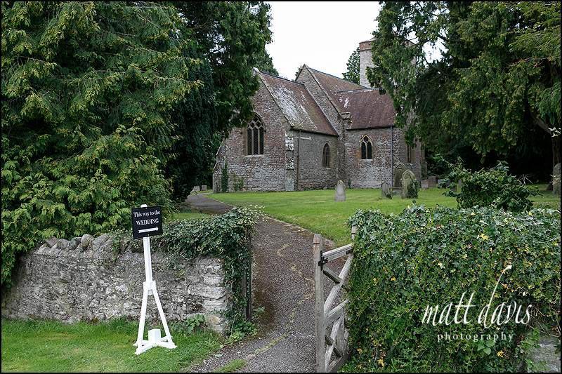 The church at Birtsmorton Court