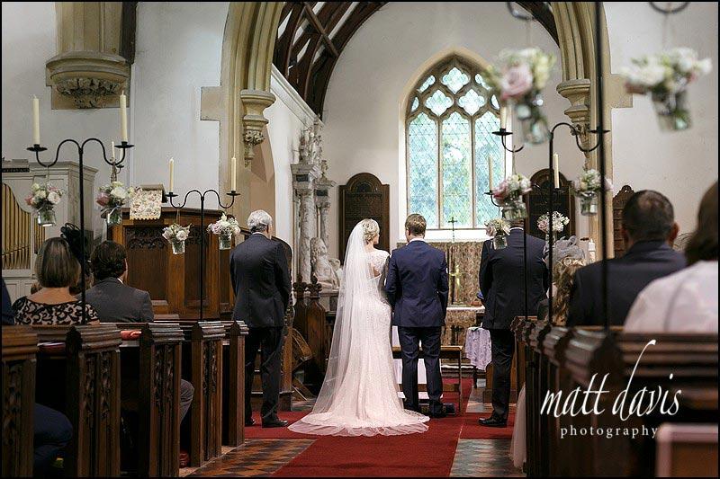 Wedding at Birtsmorton Court church