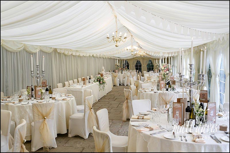 The marquee at Birtsmorton Court