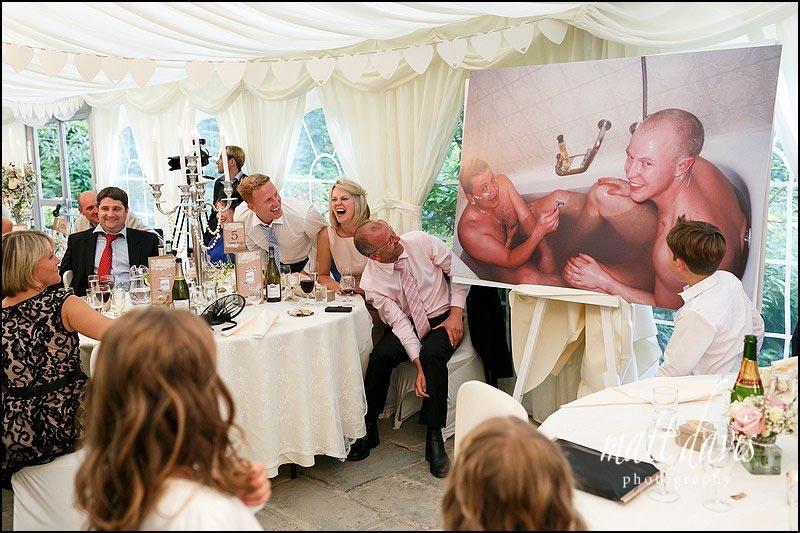 Hilarious Wedding speeches at Birtsmorton Court