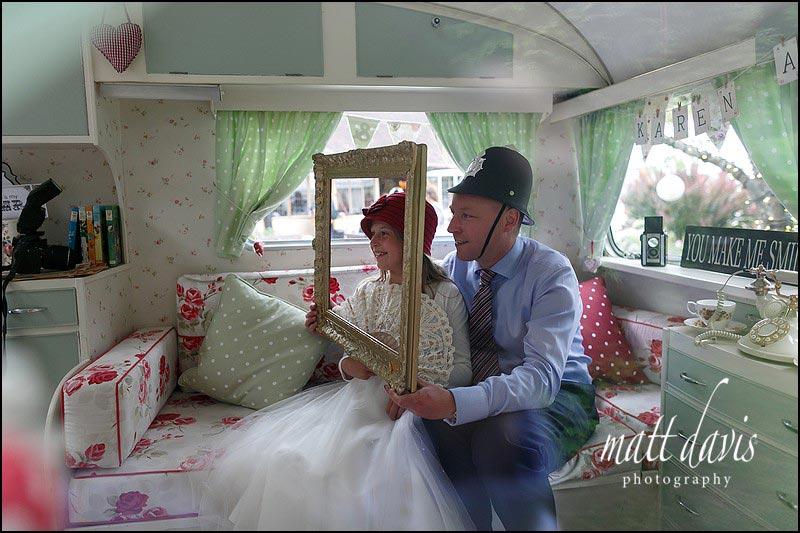 Wedding photo booth at Birtsmorton Court