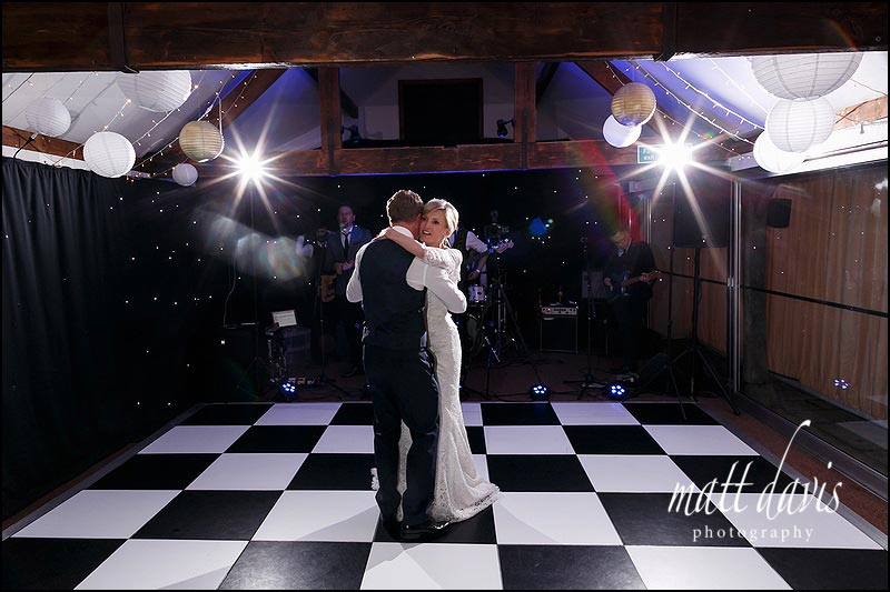 First dance photos at Birtsmorton Court