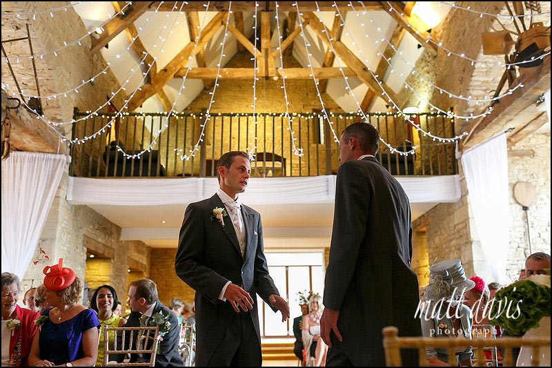 Wedding at The Great Tythe Barn, Tetbury, Gloucestershire