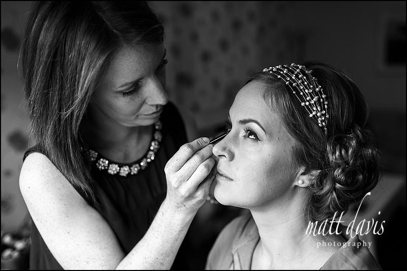 Black and white wedding photography by Matt Davis