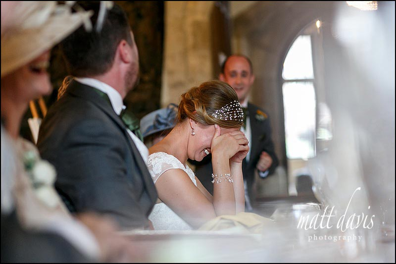 Autumn wedding at Berkeley Castle