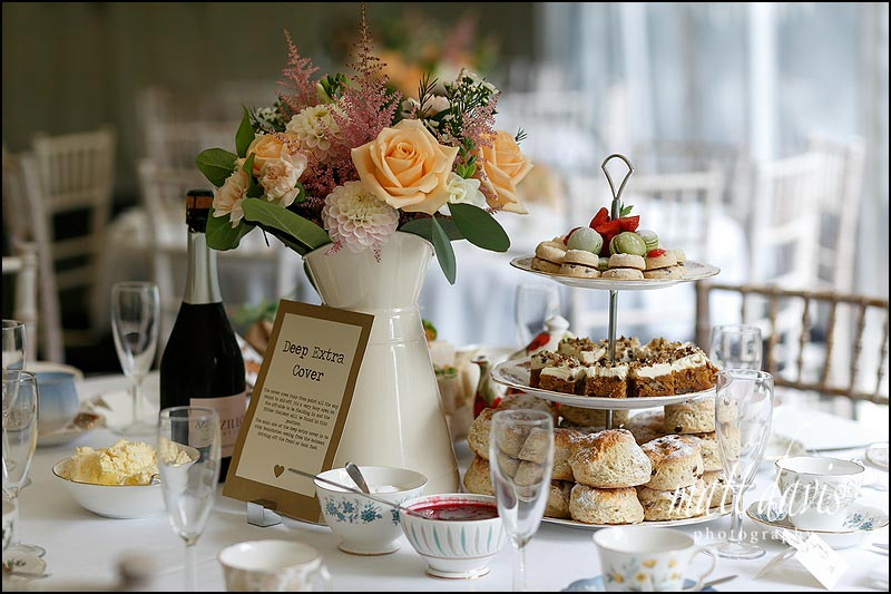 Wedding photos at The Old Vicarage with Afternoon tea