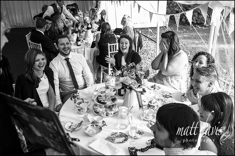 Documentary wedding photography by Matt Davis Photography, Gloucestershire