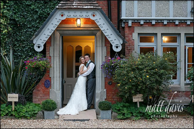 Highcliffe castle wedding photos with reception at The Old Vicarage