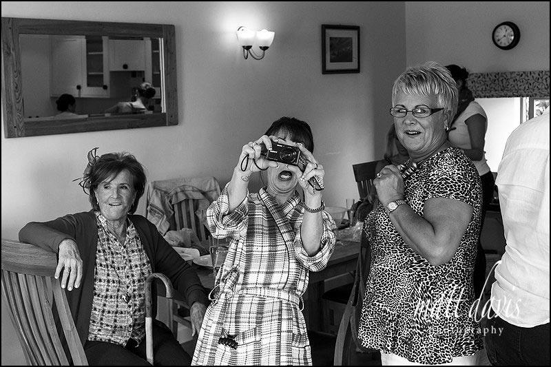 A fun wedding at Kingscote Barn