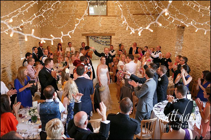 Fun Kingscote Barn wedding photos