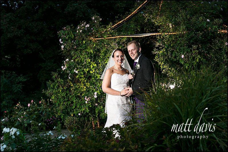 Stylish Kingscote Barn wedding photos