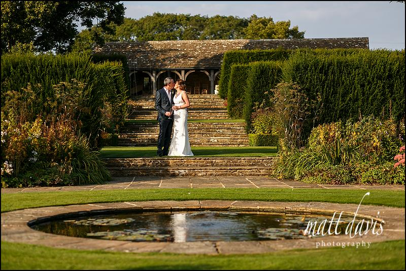 Outdoor wedding at Whatley Manor