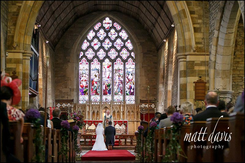 A quintessentially English wedding held at St George's church in the Cotswolds