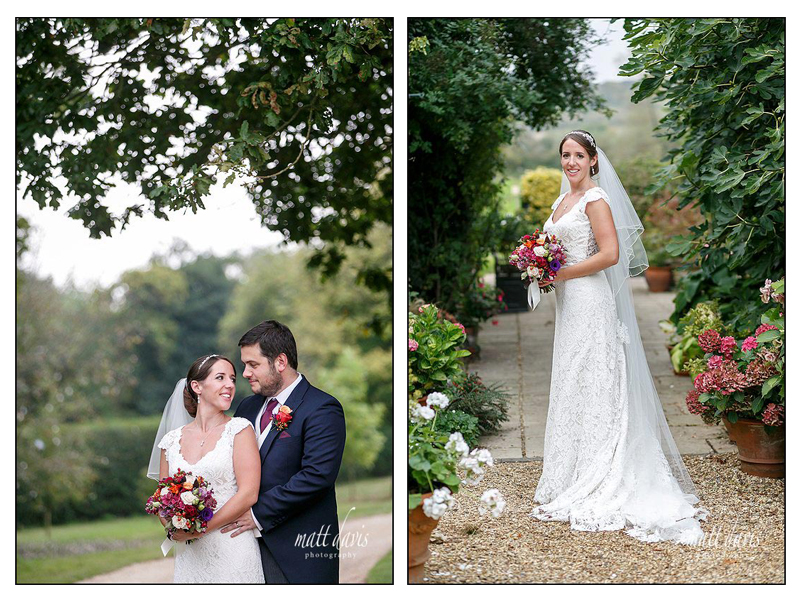 Stunning bridal portraits taken at a quintessentially English wedding