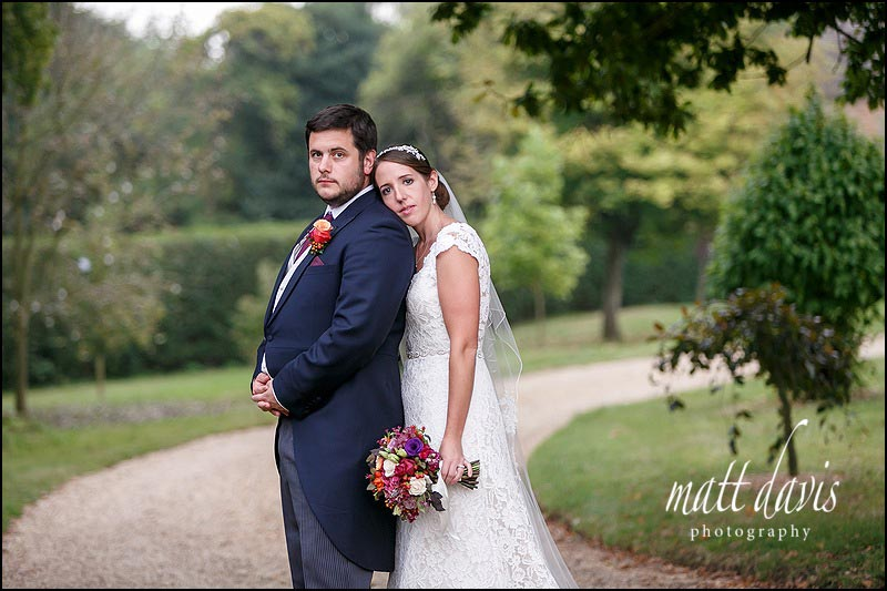 Stunning couple portraits taken at a quintessentially English wedding in Oxfordshire