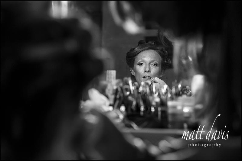 Sudeley Castle wedding photography taken during the bridal preps