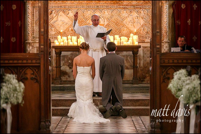 Wedding photography at St Mary's church, Sudeley Castle, Gloucestershire