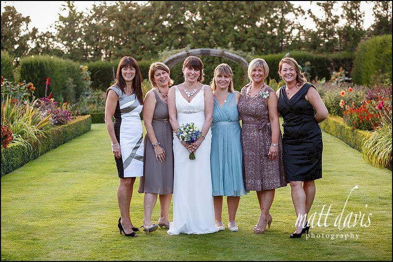 Group wedding photos at Whatley Manor