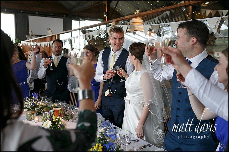 Natural wedding photography at Cripps Stone Barn