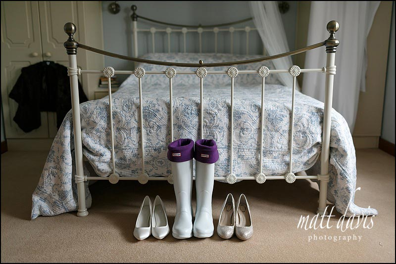 Wedding wellingtons