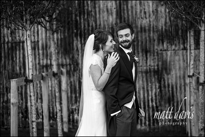 Natural wedding photos at Cripps Stone Barn