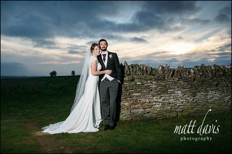 weddings at Cripps Stone Barn have fantastic skies