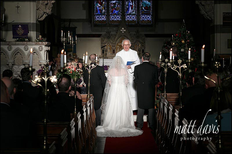 Winter Weddings at St Peter's Church Clearwell Castle