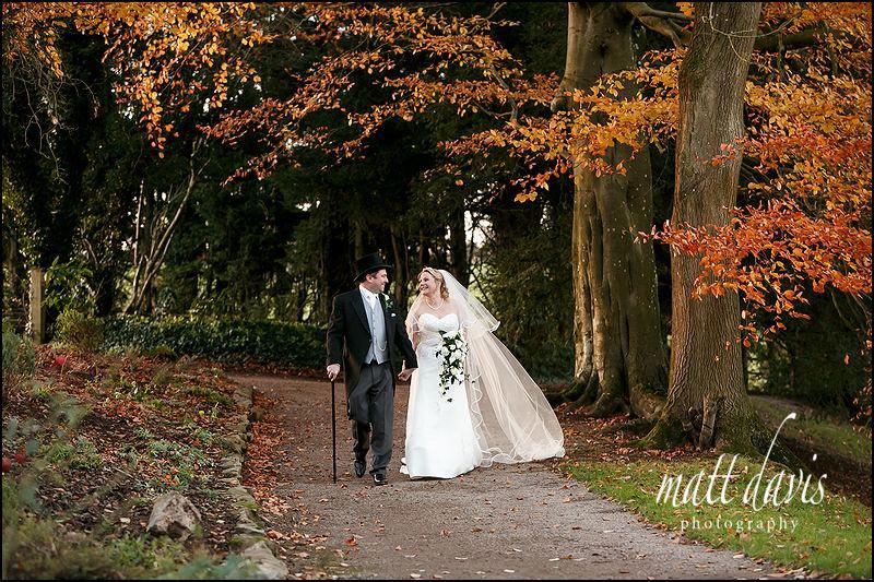 Winter Wedding photos Clearwell Castle