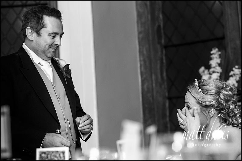 Emotional weddings at Clearwell Castle photographed by Matt Davis