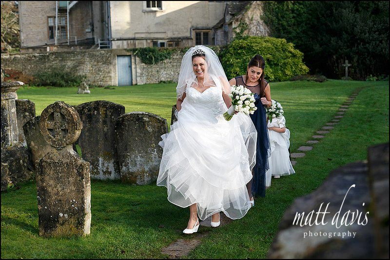 Wedding photos Bibury Court, Gloucestershire
