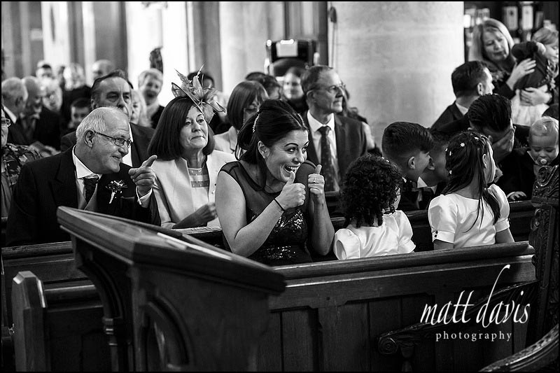 wedding photography at Bibury Church