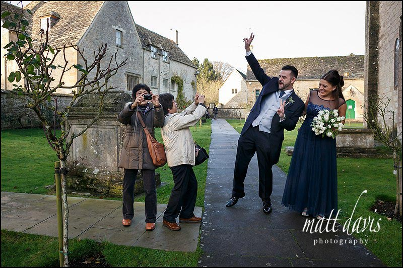 Documentary wedding photography Bibury, Gloucestershire