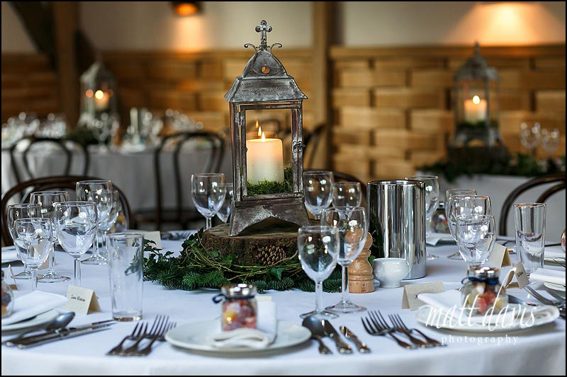 Cripps Barn wedding table layouts