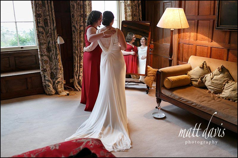 Documentary wedding photography at Elmore Court by Matt Davis Photography