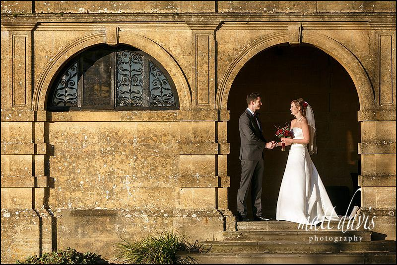 Eynsham Hall has some great locations for wedding photos