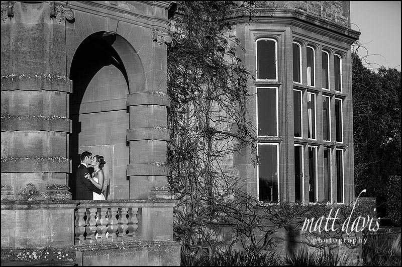 Black and white wedding photography Eynsham Hall