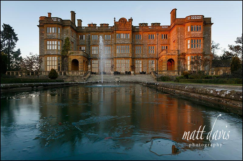 Winter wedding at Eynsham Hall