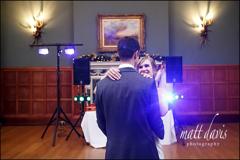 First Dance at a wedding at Eynsham Hall