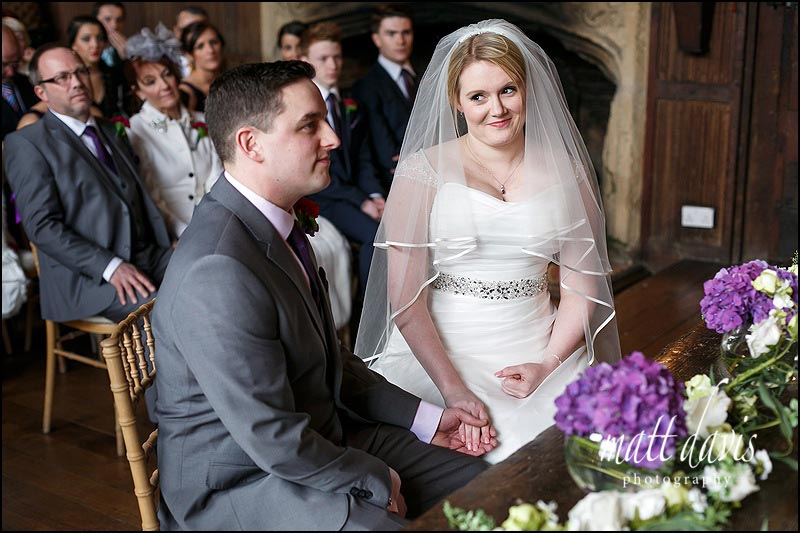 civil ceremony wedding at Dorney Court