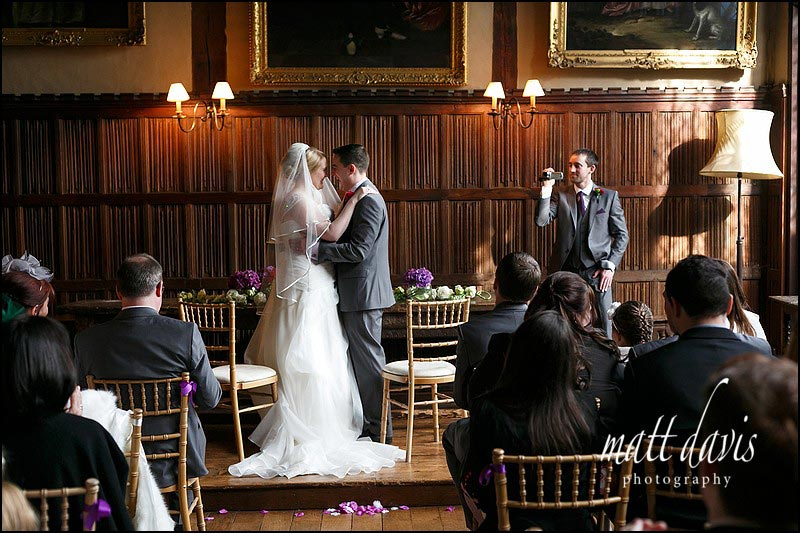 civil ceremony wedding photos at Dorney Court