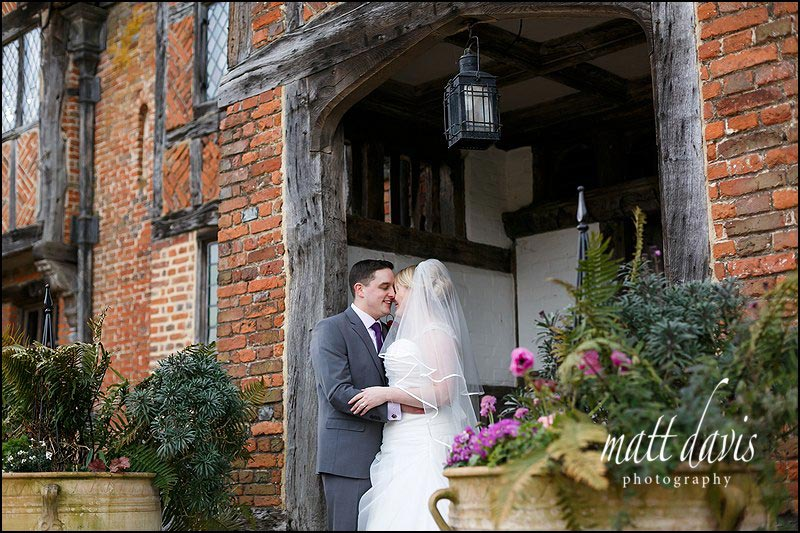 beautiful winter wedding photos at Dorney Court