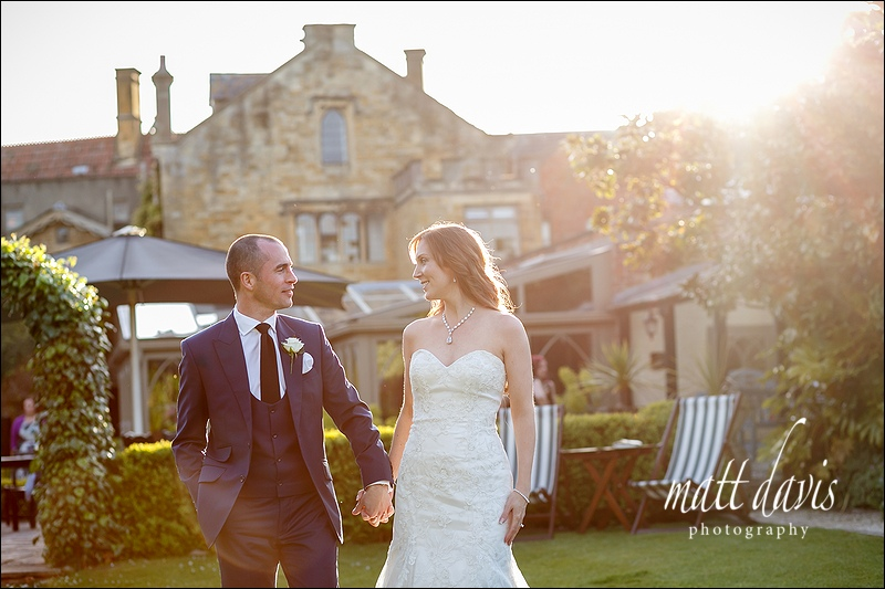 Manor House Hotel wedding photos – James & Tina